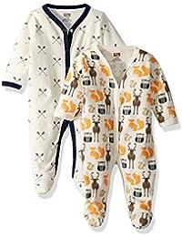 Baby Cotton Union Suit, 2 Pack