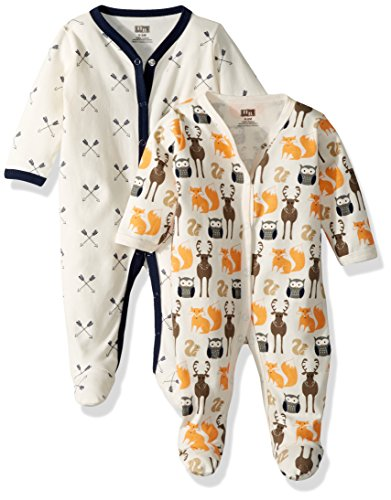 Hudson Baby Unisex Baby Cotton Sleep and Play