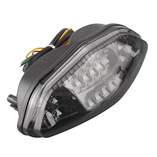 (Newsmarts Motorcycle LED Taillight Brake Turn Signal Lights Tail Light for Suzuki DL650 V-Strom 2004 2005 2006 2007 2008 2009)