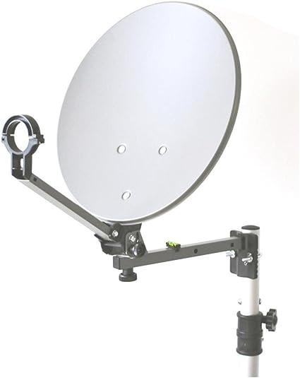 Opticum - Maletín con sistema satélite para camping (antena ...