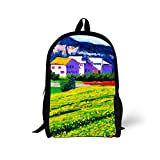 Best GENERIC City Backpacks - Generic Stylish Printing School Backpack for Students Review