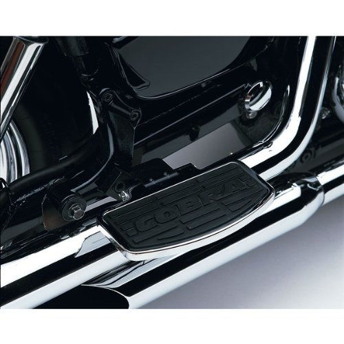 Cobra Classic Rear Floorboard Kit For Yamaha XVS1300A V-Star 2007-2009, 2011-2012 - 06-3745
