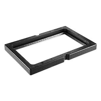 EPP - Caja térmica universal (60,0 x 40,0 x 5,0 cm), color negro: Amazon.es: Industria, empresas y ciencia