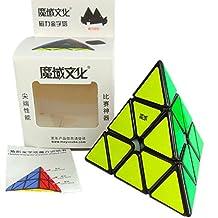 Kingcube MoYu Magnetic Pyraminx Black Magic cube Magnetic Pyraminx Black Speed cube
