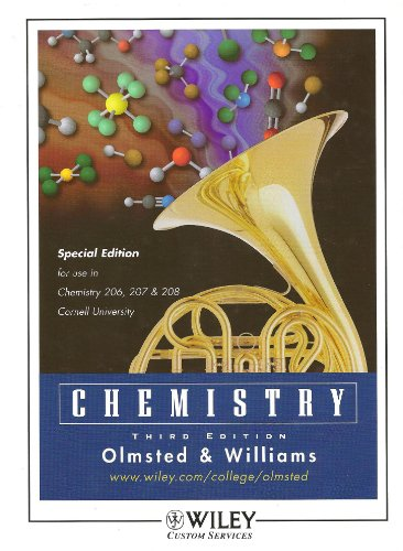 (WCS)Chemistry 3rd Edition for Cornell University