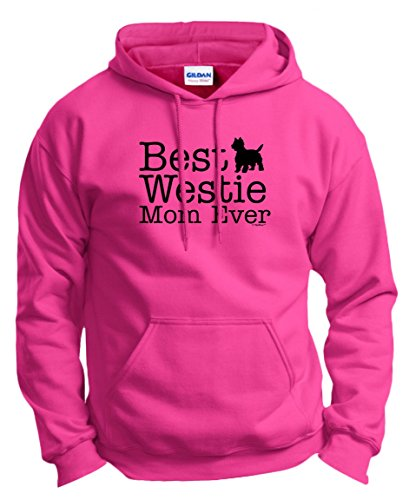 (West Highland Terrier Gifts West Highland Terrier Gifts Best Westie Mom Ever Hoodie Sweatshirt Medium Hlcna)