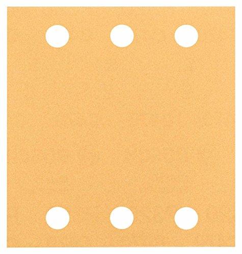 BOSCH (Bosch) sanding paper 115x107mm # 120 (10 pieces magic formula) [2,608,607,458] (Bosch Formula)