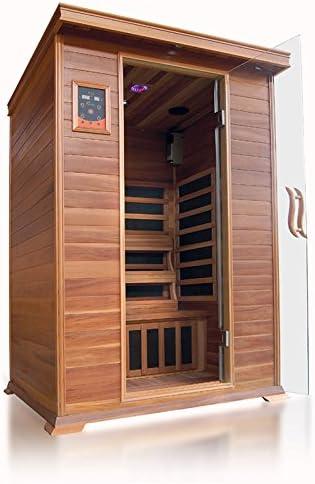 Best Infrared Sauna-Best 2 Person: SunRay Sierra Person Infrared Sauna
