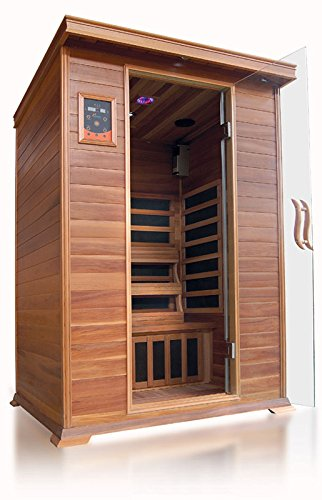 SunRay Sierra 2 Person Infrared Sauna by Sunray