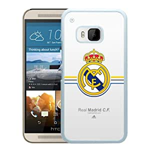 Real Madrid White New Customized Design HTC ONE M9 Case