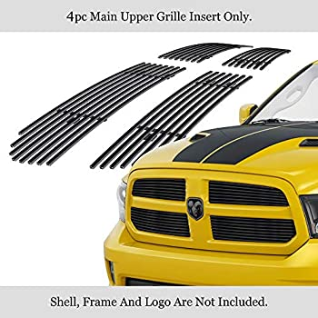 APS Compatible with 2013-2018 Ram 1500 Express and Sport Model Only Stainless Steel Billet Grille D65920S