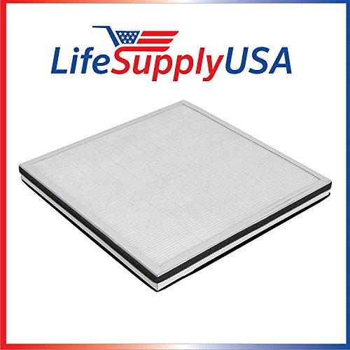 LifeSupplyUSA Replacement Filter for Surround Air MT-8400SF 3 in 1, HEPA, Carbon and Pre-Filter 3000 Series Replacement Pre Filter