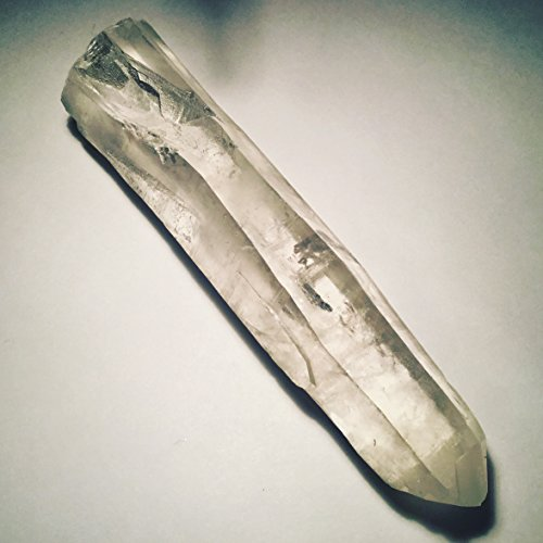 Exquisite Brazilian Clear Singing Quartz Crystal Wand