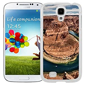 New Custom Designed Cover Case For Samsung Galaxy S4 I9500 i337 M919 i545 r970 l720 With Horseshoe Bend Nature Mobile Wallpaper (2) Phone Case