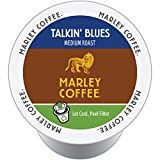 Marley Coffee, Talkin' Blues, 100% Jamaica Blue Mountain, Medium Roast, 24 Single Serve RealCups