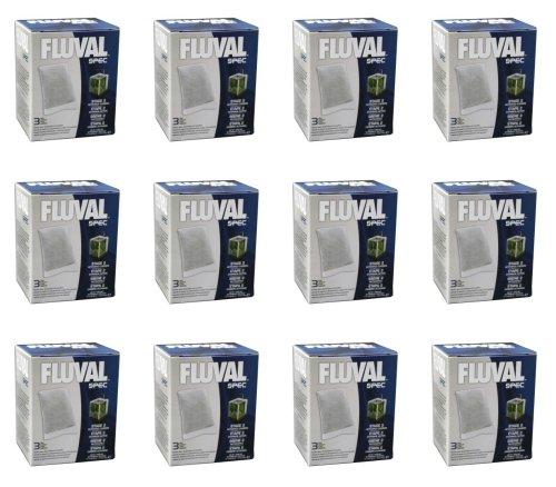 Fluval Spec Carbon 3 pk Filter Media x 12 Inner Case
