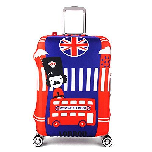 Travel Rolling Luggage Cover - ISEYMI Travel New Design Luggage Sets Suitcase...