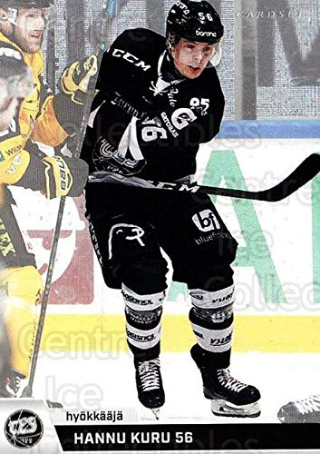 (CI) Hannu Kuru Hockey Card 2018-19 Finnish Cardset (base) 166 Hannu Kuru