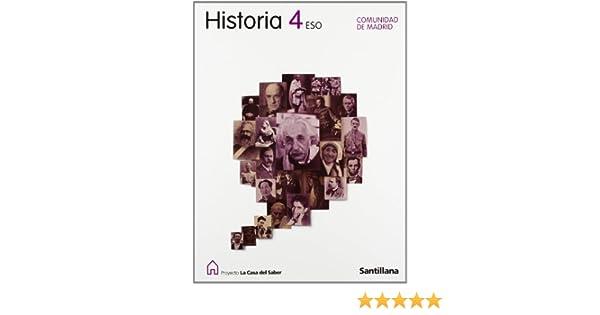 Historia 4 Eso Comunidad de Madrid La Casa Del Saber Santillana ...