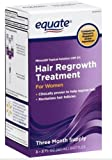 Equate Women's Hair Regrowth Topical Solution 2% Minoxidil. 3 Months Supply. About Hair