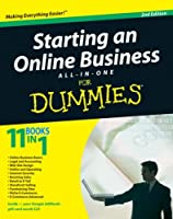 Starting an Online Business All-in-One Desk Reference For Dummies, 2nd Edition Front Cover