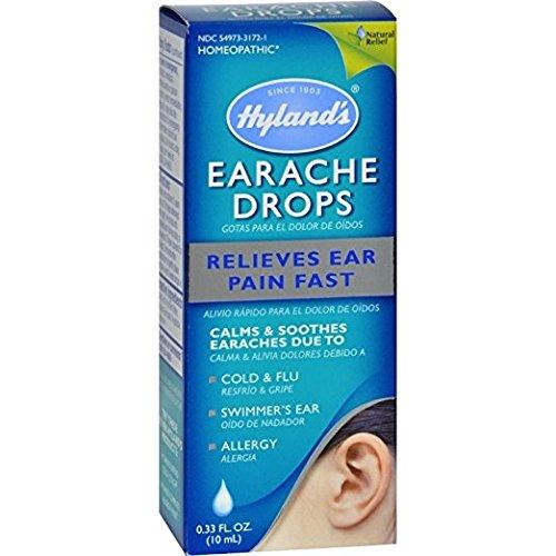 Hyland's Earache Drops, 0.33oz. Per Pack (11 Pack)