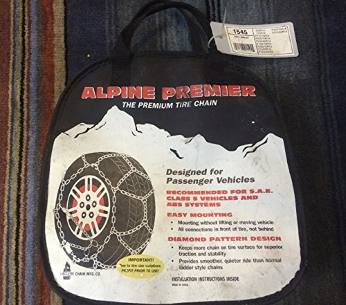 Laclede Chain 7021-545-07 Alpine Premier Passenger Car Tire Chains