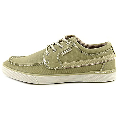 Izod Mens Oasis-2 Fashion Sneaker Kaki