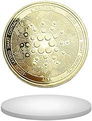 Cardano Coin (Gold Color)   Also Great for Fans of Bitcoin, Ethereum, Ripple, EOS, Dogecoin, Litecoin, Crypto,