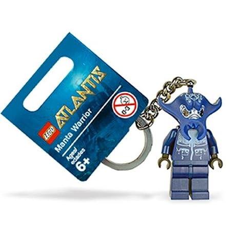 LEGO Atlantis - Llavero con figura de Guerrero Manta: Amazon ...