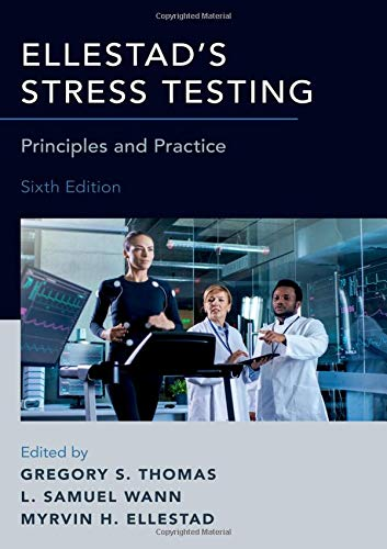 Pdf Medical Books Ellestad's Stress Testing: Principles and Practice