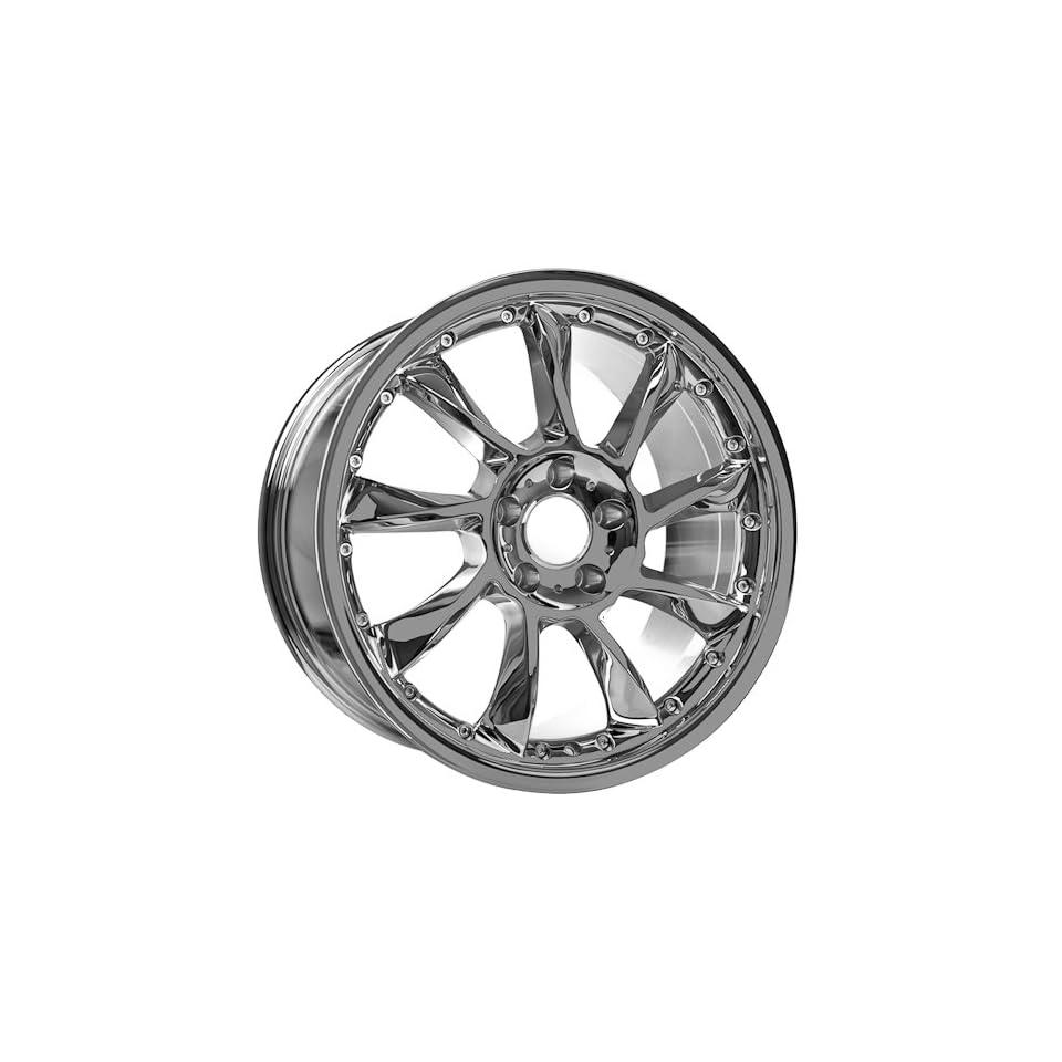 18 Chrome Mercedes Benz wheels rims fit all models C CLK E S SL SLK Class AMG