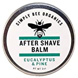 Oil Cleansing Gritty - Organic Aftershave Balm - Eucalyptus Pine