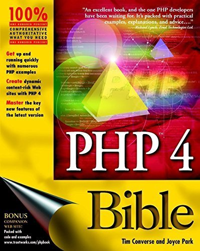 PHP 4 Bible by Tim Converse (2000-08-31)