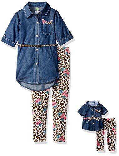 Denim Doll Clothing - 1