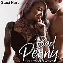 Bad Penny Audiobook by Staci Hart Narrated by Joe Arden, Kirsten Leigh