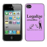 Best Armadillo Cases iPhone 4 Cases - STPlus Armadillos Legalize Tax Funny Hard Cover Case Review