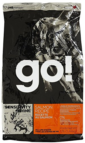 PETCUREAN 152359 Go Sensitivity and Shine Salmon for Dog, 12-Pound