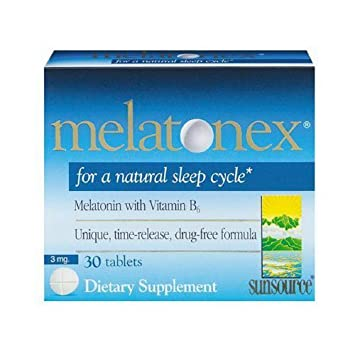 Amazon.com: Sun Source Melatonex Melatonin with Vitamin B6 Tablets ...