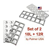 Palmer Large Ravioli Molds Makes 2.5 and 2.0 Inches set