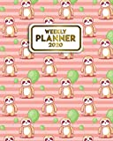 2020 Weekly Planner: Cute Sloth & Balloons One Year Weekly Planner & Organizer with Inspirational Quotes | Daily Diary & Agenda with To-Do's, U.S. Holidays, Vision Boards & Notes