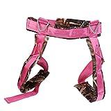 Jili Online Kids Bungee Jumping Harness Trampoline Rebounder Accessory Padded Seat Belts - Camo Rose