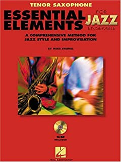 trombone essential elements for jazz ensemble a comprehensive method for jazz style and improvisation