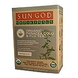 Certified Organic Herbal Tea | Panacea Cold & Flu Loose Leaf Herbal Tea | Sun God Medicinals | 2 oz | 18-24 servings For Sale