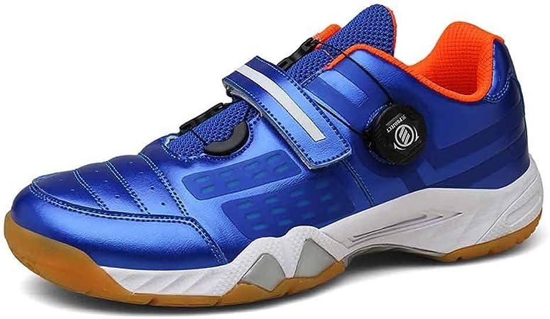 FJJLOVE Zapatillas de bádminton, Zapatillas de Ping-Pong Suaves y Antideslizantes Zapatillas de Ciclismo Antideslizantes Resistentes al Desgaste Zapatillas de Bicicleta Zapatillas,Azul,42: Amazon.es: Hogar