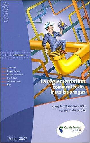Lire en ligne La réglementation commentée des installations gaz dans les établissements recevant du public pdf epub