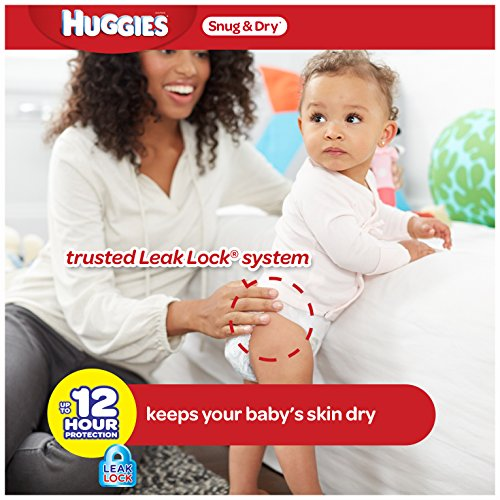 Large Product Image of Huggies Snug & Dry Diapers, Size 3, 222 Count (One Month Supply) (Package may vary)
