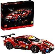 "LEGO Technic Ferrari 488 GTE ""AF Corse #51"" 42125 Building Kit; Make a Faithful Version of The Famous Racing C"