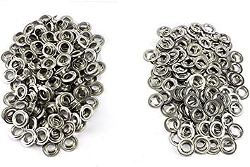 Eisen vernickelt oder vermessingt selbstlochend /Ösen Nr 25 3,8 mm Menge:10.000 St/ück;Material:vermessingt ring rollend