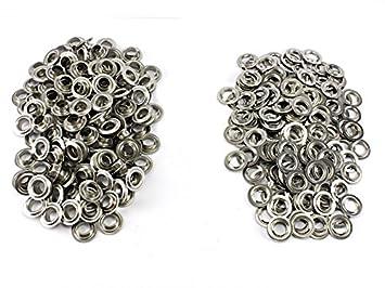 Einschlagstempel XXL 40 mm 50 Ösen Messing Nickel rostfrei Ösenwerkzeug